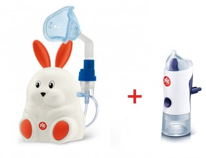 Inhalator PiC Solution Mr Carrot + Irygator do nosa Rino Shower