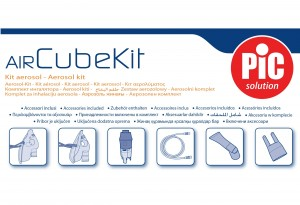 PiC Solution AirKit Cube zestaw akcesoriów do inhalatora  OUTLET