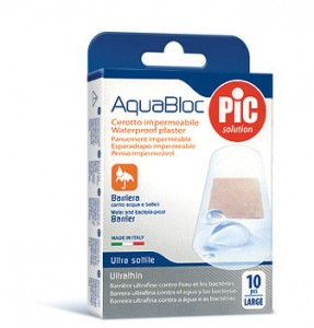 Plastry AQUABLOC 25 x 72 mm. (10 szt.)